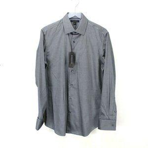 Banana Republic Mens Blue Non-Iron Slim Fit Shirt